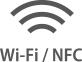 Wi-Fi aNFC
