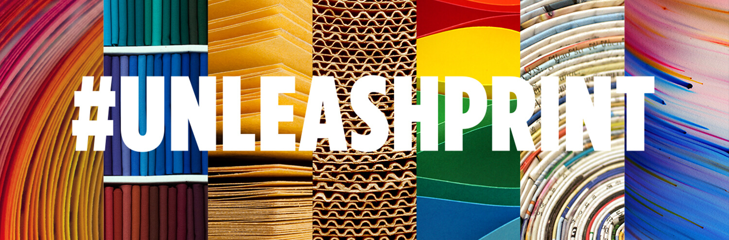 #UNLEASHPRINT header banner